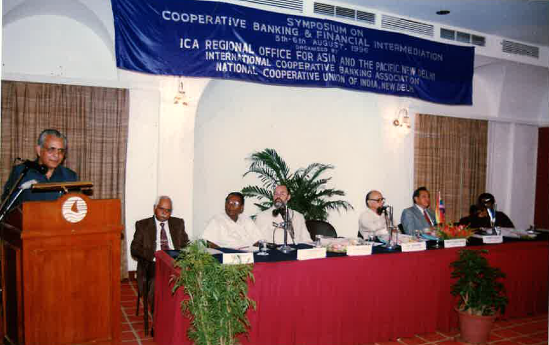 1996 Symposium on cooperative banking and financial intermediation India