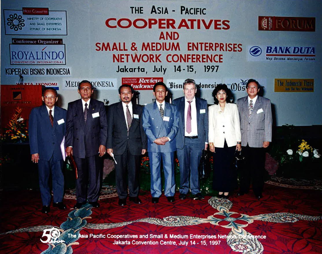 1997 The Asia-Pacific cooperatives and small and medium enterprises network conference Indonesia