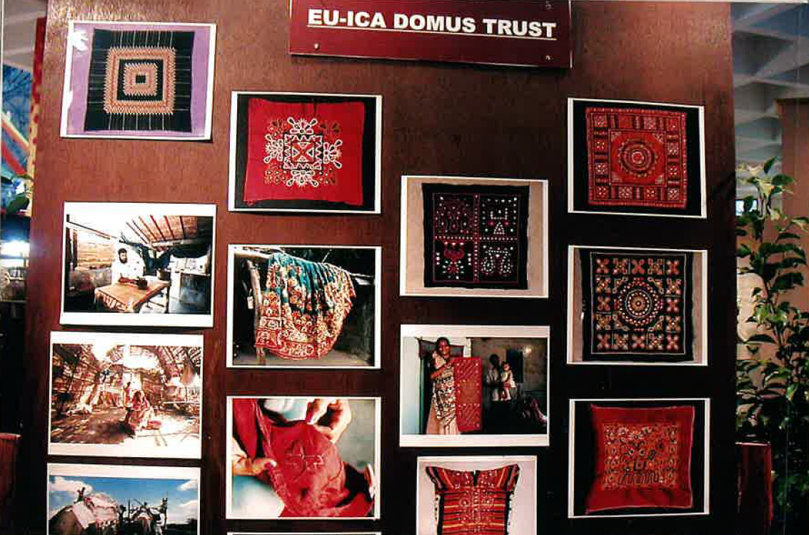 2000 Inaugural ceremony of ICA Domus Trust-EU Bhuj project India