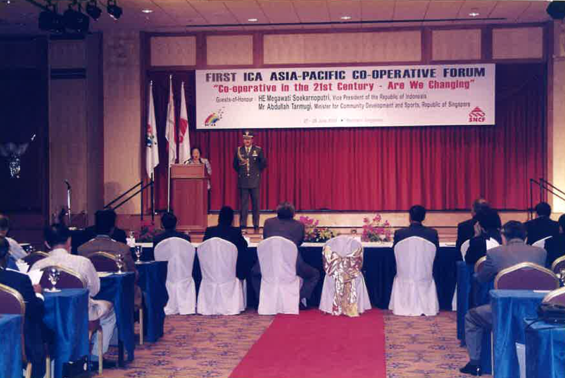 2000 First ICA Asia-Pacific cooperative forum Singapore